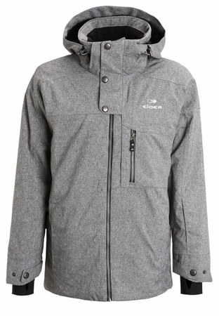 Eider Mens Manhattan Jacket 2.0 Lunar Grey Heather