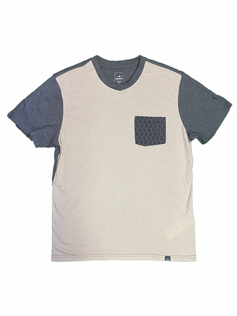 Eider Mens Marko Tee Misty Grey/ Blue Sense