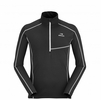 Eider Mens Montaina 1/2 Zip Black/ Noir