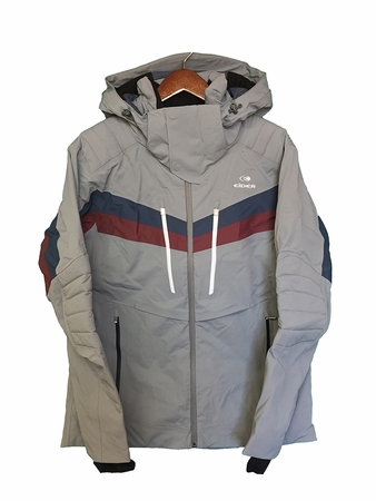 Eider Mens Park City Jacket Arctic Grey