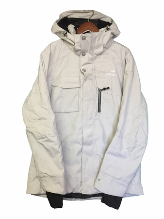 Eider Mens Red Square Jacket 2.0 Alaska White