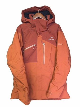 Eider Mens Revelstoke Jacket 3.0 Single Malt/ Oxide Red