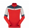 Eider Mens Rise 1/2 Zip Red Lava