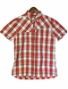 Eider Mens Sarigua Shirt Crimson Red/ White