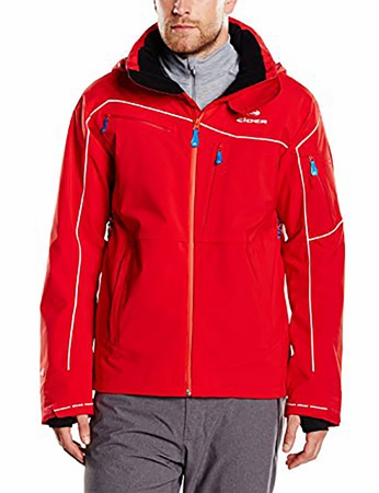 Eider Mens Sestriere Jacket 2 Fiery Red