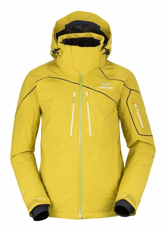 Eider Mens Sestriere Jacket Green Lime