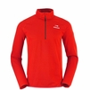 Eider Mens Shey Half Zip II Redwood