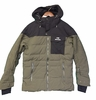 Eider Mens Shibuya Jacket Kaki Green/ After Dark (Close Out)