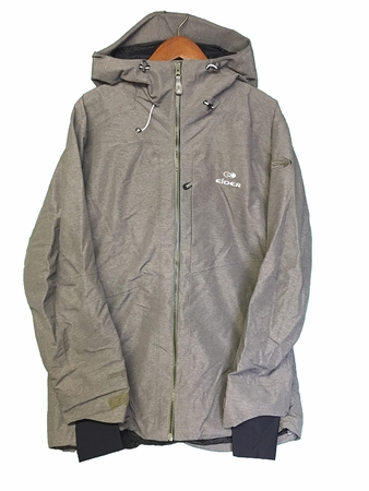 Eider Mens Stair Case Jacket Rock Bun