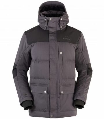 Eider Mens Sulens Down Jacket Graphite/ After Dark