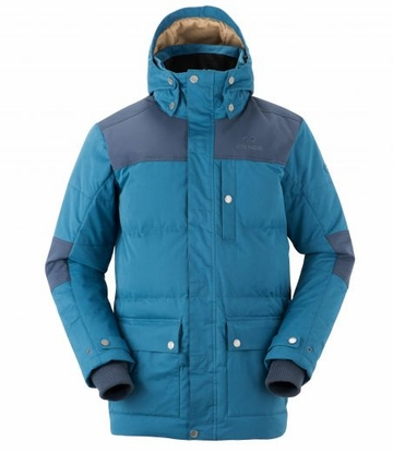 Eider Mens Sulens Down Jacket Wild Duck/ Knight Blue