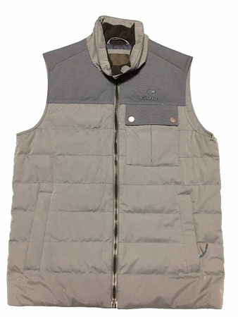 Eider Mens Sulens Down Vest Tornado Blue/ Night Shadow