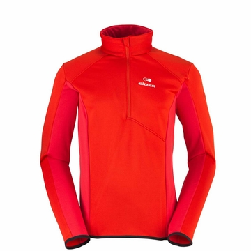Eider Mens Wonder 1/2 Zip Fiery Red
