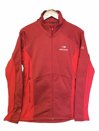 Eider Mens Wonder Jacket Chili Pepper Cloudy