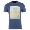 Eider Mens Yulton Tee Night Blue Print Landscape