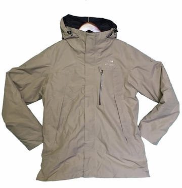 Eider Mens Zansk 3 in 1 Primaloft Jacket 2 Clay Brown