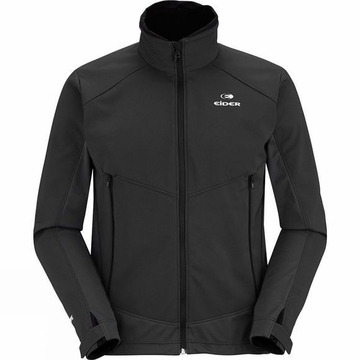 Eider Mens Swift Windstopper Knit Jacket Black/ Noir