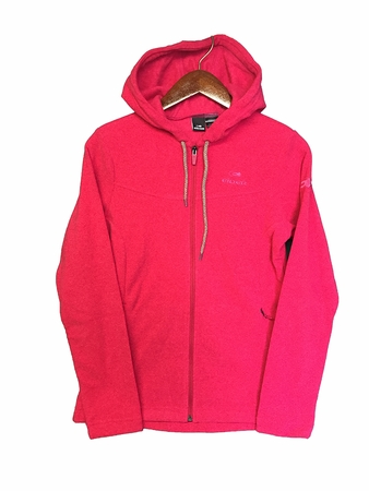 Eider Womens Belle Etoile Hoodie Cherry Rose (Close Out)