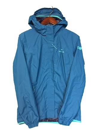 Eider Womens Bright Net Jacket Teal Blue