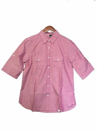 Eider Womens Cygnes Shirt Chambray Old Rose