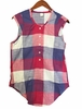 Eider Womens Cygnes Sleeveless Shirt Cherry Wine