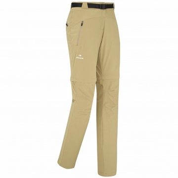 Eider Womens Flex Zip Off Pant Earth Brown