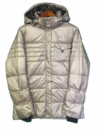 Eider Womens Harajuku Down Jacket Walnut