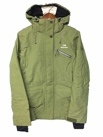 Eider Womens Kanda Jacket Rock Green