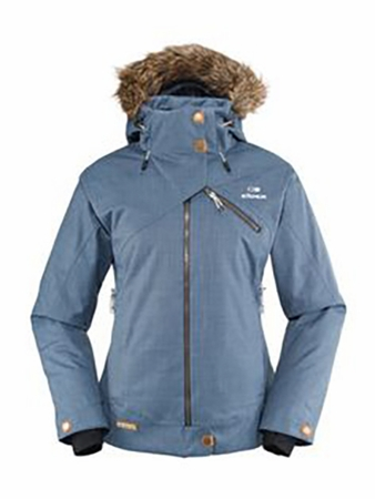 Eider Womens Kensington Jacket Smoke Blue