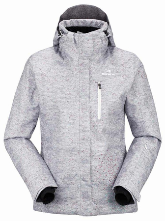 Eider Womens Lake Placid Jacket 3.0 Steel Grey Print