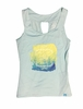 Eider Womens Mauna Loa Tank 2.0 Blue Bay/ Print Adventure