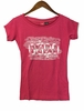 Eider Womens Mauna Loa Tee Cherry Wine Print Art Mount
