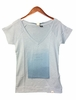 Eider Womens Menthon Tee 2 Blue Haze/ Print Happiness
