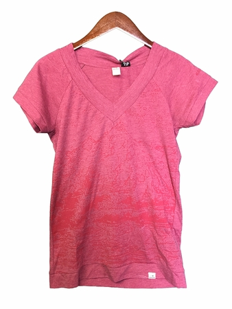 Eider Womens Menthon Tee Cherry Wine