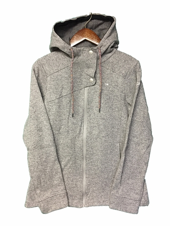 Eider Womens Mile End Fleece Jacket Silver Grey