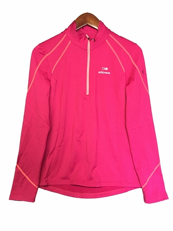 Eider Womens Montana 1/2 Zip 2 Midnight Rose