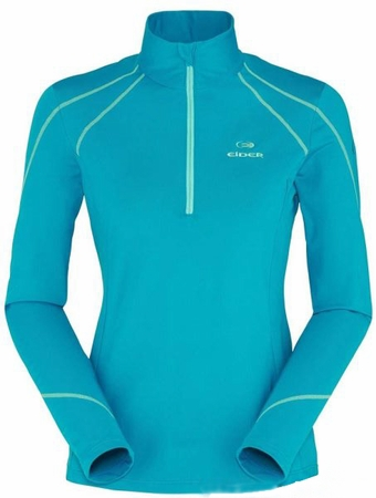 Eider Womens Montana 1/2 Zip Cockatoo Blue