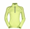 Eider Womens Montana 1/2 Zip Daiquiri Green