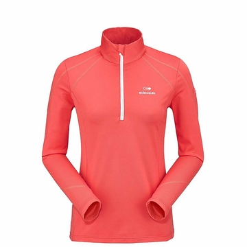 Eider Womens Montana 1/2 Zip Hot Coral