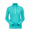 Eider Womens Montana 1/2 Zip Refresh Blue