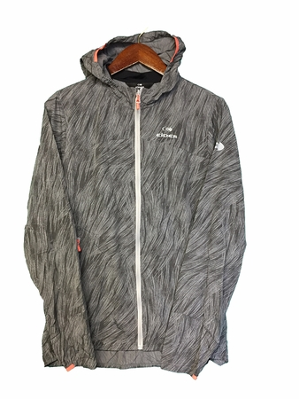 Eider Womens Move Print Jacket Arctic Grey Print