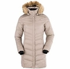 Eider Womens Orgeval Coat Marron Taupe