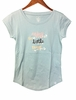 Eider Womens Perriere T Shirt Blue Haze/ Print Enjoy