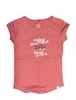 Eider Womens Perriere T Shirt Old Rose/ Print Enjoy