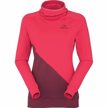 Eider Womens Pila Hoodie 2 Grenadine/ Wine (Close Out)