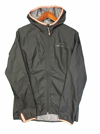 Eider Womens Pulsate Jacket Black/ Coral