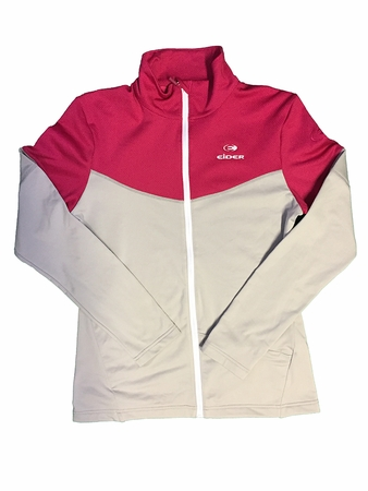 Eider Womens Rise Jacket Silver Fog/ Midnight Rose
