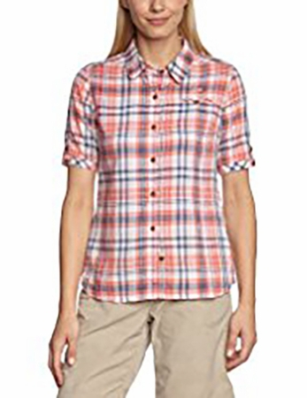 Eider Womens Rochette Shirt Light Coral