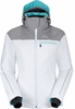 Eider Womens Saas Fee Jacket White/ Light Heather