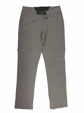 Eider Womens Saian Zip Off Pant Dark Grey